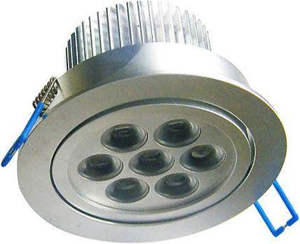 Podhledové světlo LED 7x1W,bílé, 230V/7W