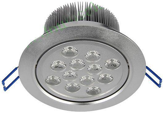 Podhledové světlo LED 12x1W,bílé teplé, 230V/12W