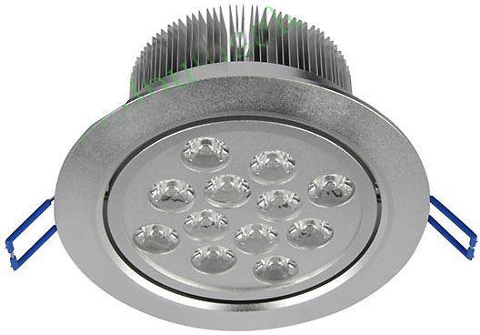 Podhledové světlo LED 12x1W,bílé teplé, 230V/12W, použité