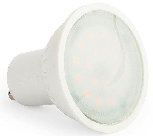 Žárovka LED GU10, 10xSMD2835, 230V/7W, bílá, stmívatelná