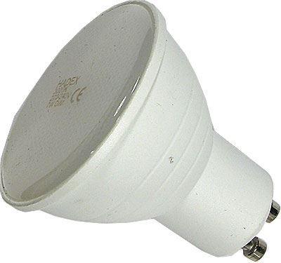Žárovka LED GU10, 10xSMD2835, 230V/7W, teplá bílá, stmívatelná