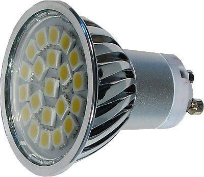 Žárovka LED GU10-21xSMD5050,bílá,230V/4W, DOPRODEJ