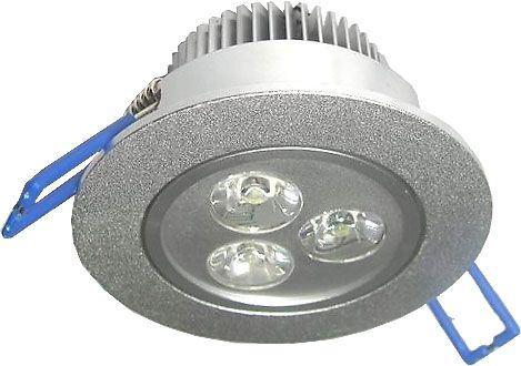 Podhledové světlo LED 3x1W,bílé teplé, 230V/3,5W