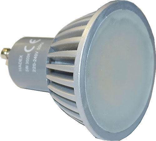 Žárovka LED GU10 teplá bílá, 230/5W DOPRODEJ
