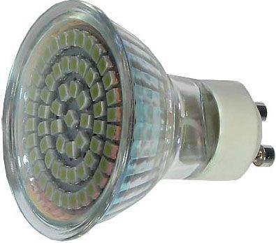 Žárovka LED GU10-60xSMD3528,bílá,230/4W, DOPRODEJ