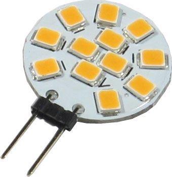 Žárovka LED G4 12xSMD2835 bílá, 12V/2,5W