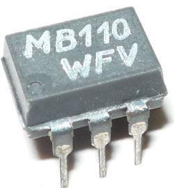 MB110 - optočlen, DIP6 /~WK16414/