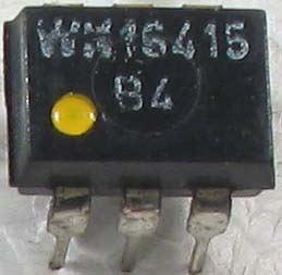 WK16415-2 optočlen, CTR_4 DIP6 žlutá tečka