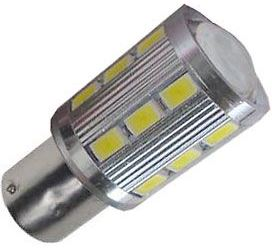 Žárovka LED Ba15S 10-30V/6W bílá
