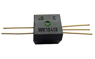 WK16413-3 optočlen, zelená tečka