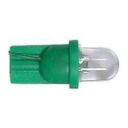 Žárovka LED T10 12V/0,25W zelená čirá