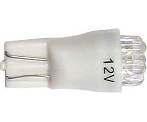 Žárovka LED T10 12V/0,5W bílá, 6xLED3mm