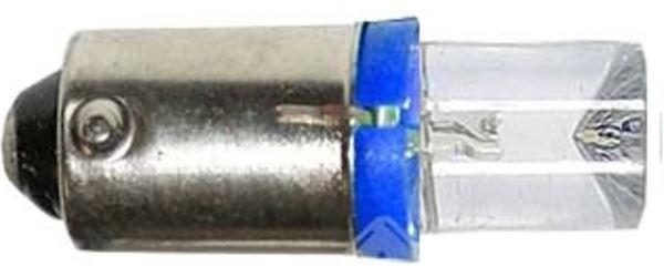 Žárovka LED Ba9S 12V/0,3W modrá