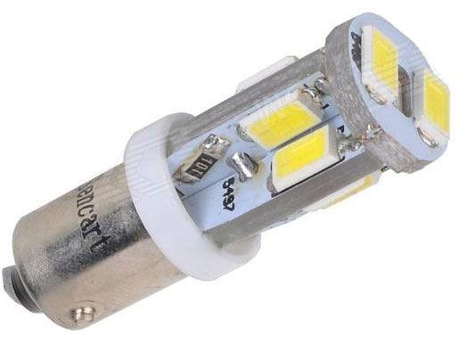 Žárovka LED Ba9S 12V/4W bílá, 10xSMD5630