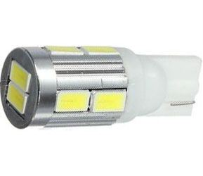 Žárovka LED T10 12V/2,5W bílá, 10xSMD5630