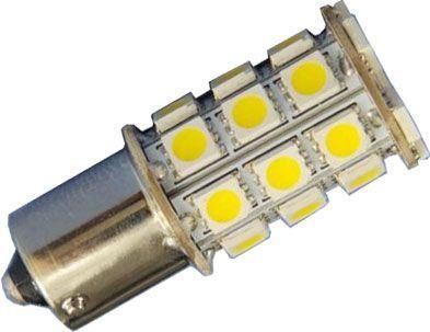 Žárovka LED Ba15S 12V/5W bílá, 27xSMD5050