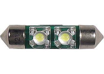 Žárovka LED-2x SV8,5-8 24V sufit bílá