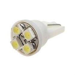 Žárovka LED T10 12V/0,5W bílá, 4xSMD3528