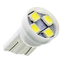 Žárovka LED T10 12V/1W bílá, 4xSMD2835