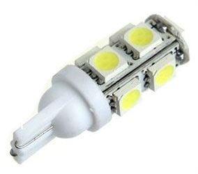 Žárovka LED T10 12V/2,5W bílá, 9xSMD5050