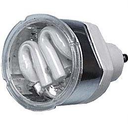 Úsporná žárovka 230V/9,5W GU10,bílá teplá