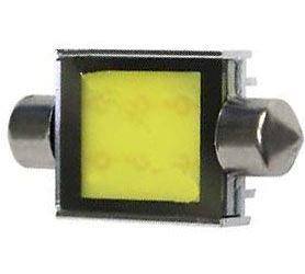 Žárovka LED SV8,5-8 sufit 39mm COB 12V/6W bílá