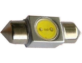 Žárovka LED SV8,5-8 sufit 31mm 12V/1W bílá