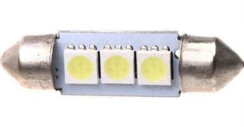 Žárovka LED SV8,5-8 sufit 39mm 12V/1,5W, bílá, 3xSMD5050