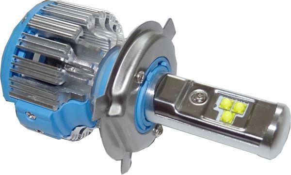 Žárovka LED H4 6-48V/40W, 6000K, 3500/3000Lm