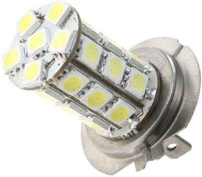 Žárovka LED H7 12V/8W, bílá, 27xSMD5050