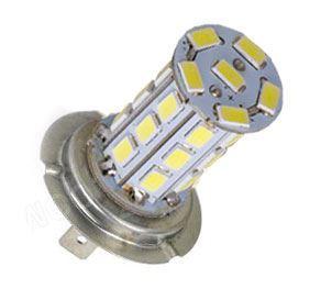 Žárovka LED H7 12V/8W, bílá, 27xSMD5730