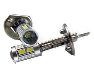 Žárovka LED H1 12V/4,5W, bílá, 8x SMD5630+3W