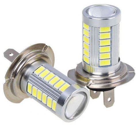 Žárovka LED H7 10-30V, 10W, bílá, 33xLED SMD5730