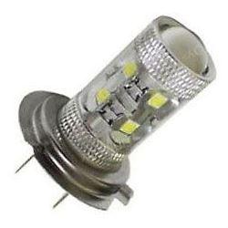 Žárovka LED H7 10-30V, 50W, bílá, 10xLED CREE XP-E