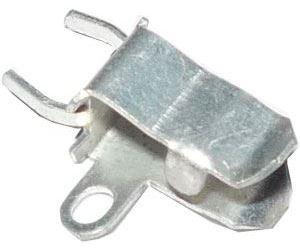 Pojistkový držák do DPS pro pojistky 5x20mm, rozteč vývodů 5mm s očkem