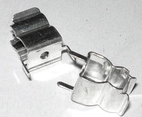 Pojistkový držák do DPS pro pojistky 5x20mm, rozteč vývodů 10mm