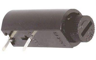 Pojistkové pouzdro do DPS pro pojistku 5x20mm, rozteč vývodů 8mm