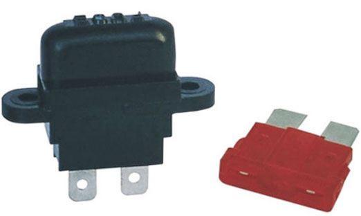 Pojistkové pouzdro pro autopojistku 19x12mm na panel