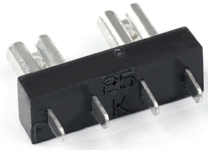 Pojistkový držák do DPS s pro autopojistky 29x22mm