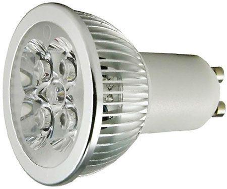 Žárovka LED GU10-4x1W ,bílá teplá,230V/4W, DOPRODEJ