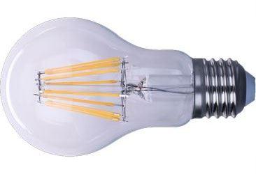Žárovka LED E27 8x Filament 230V/8W, teplá bílá