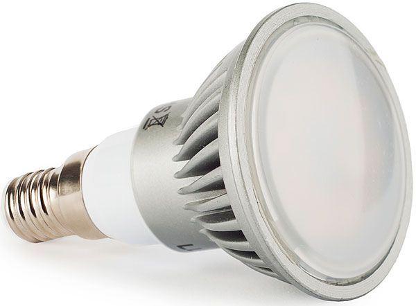 Žárovka LED E14 JDR teplá bílá, 230/5W