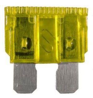 Autopojistka 20A 19x12mm