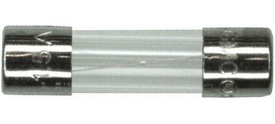 Pojistka trubičková 5x20 T 6,3A - skleněná