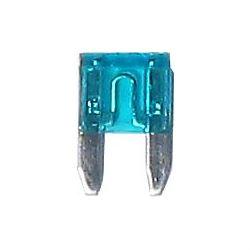 Autopojistka 15A mini-11x9mm