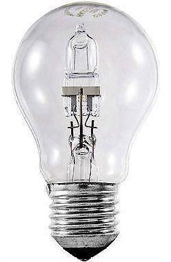 Žárovka E27 A60 hrušková, halogenová, 230V/42W