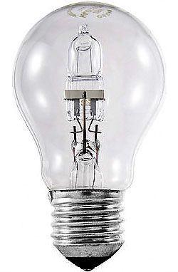 Žárovka E27 A60 hrušková halogenová, 230V/52W
