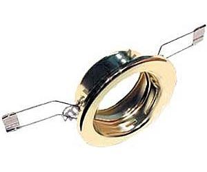 Svítidlo podhled.pevné zlaté,pro žár.50mm MR,GU