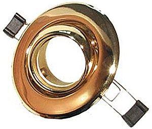 Svítidlo podhled.výklopné zlaté,pro žár.50mm MR
