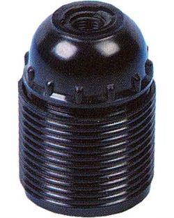 Objímka E27 plastová s vnějším závitem